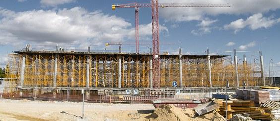 Cimbre leve G para construção de edificação