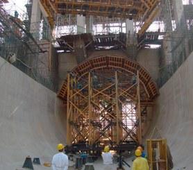 Usina Hidrelétrica de  Jirau, Porto Velho, Brasil