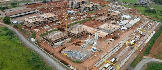 Centro administrativo do distrito federal – CADF, Brasília.DF, Brasil