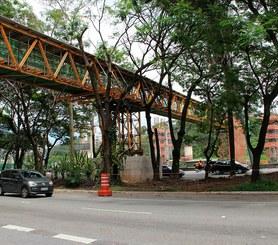 Estação Morumbi Metrô Linha 17 Ouro, São Paulo, Brasil