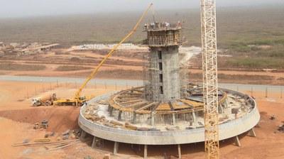 Torre de Controle do Aeroporto Internacional de Dakar, Senegal