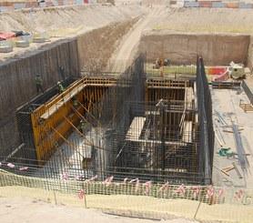 Estação Principal de Bombeamento de Águas Residuais, Jebel Ali, Dubai, Emirádos Árabes
