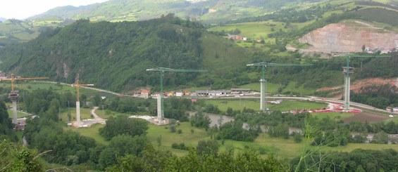 Viaduto de Narcea, Astúrias, Espanha