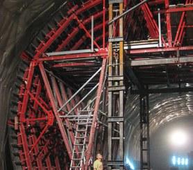 Túnel em mina, Pesaro, Itália