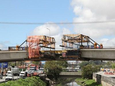 Balanço Sucessivo CVS, é tecnologia aplicada na Duplicação do Viaduto Abidb Chammas
