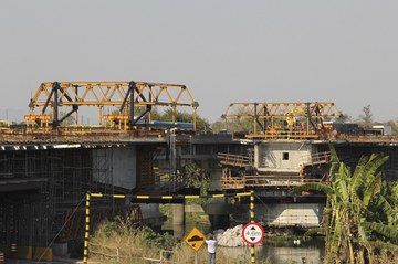 Balanço sucessivo é alternativa para construção de ponte em Resende (RJ)