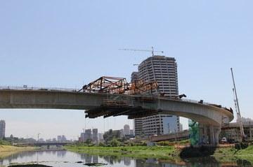 Balanço Sucessivo na construção de ponte em São Paulo...