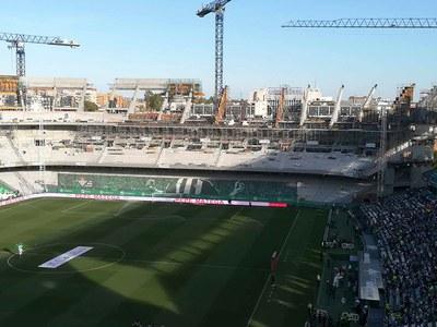 Novas Arquibancadas no Estádio Benito Villamarín