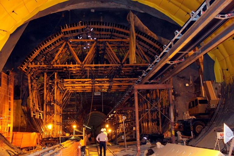 Soluções facilitam a construção de túneis